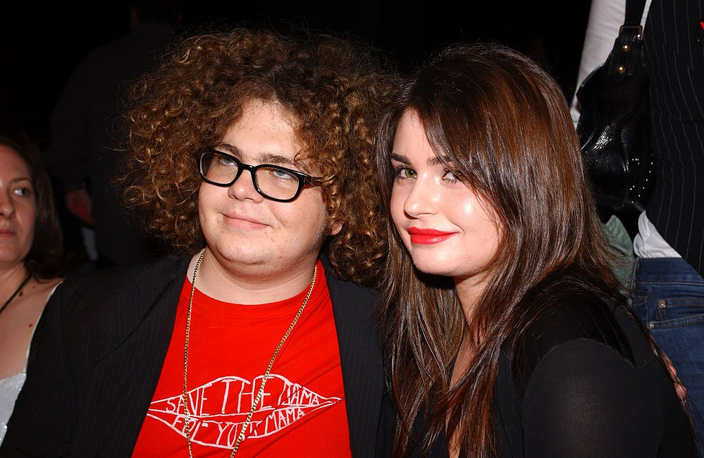 Jack and Aimée Osbourne at the Jenni Kayne Fashion Show during the Mercedes-Benz Shows Los Angeles Spring Collection on October 29, 2003, in California | Photo: Amanda Edwards/Getty Images