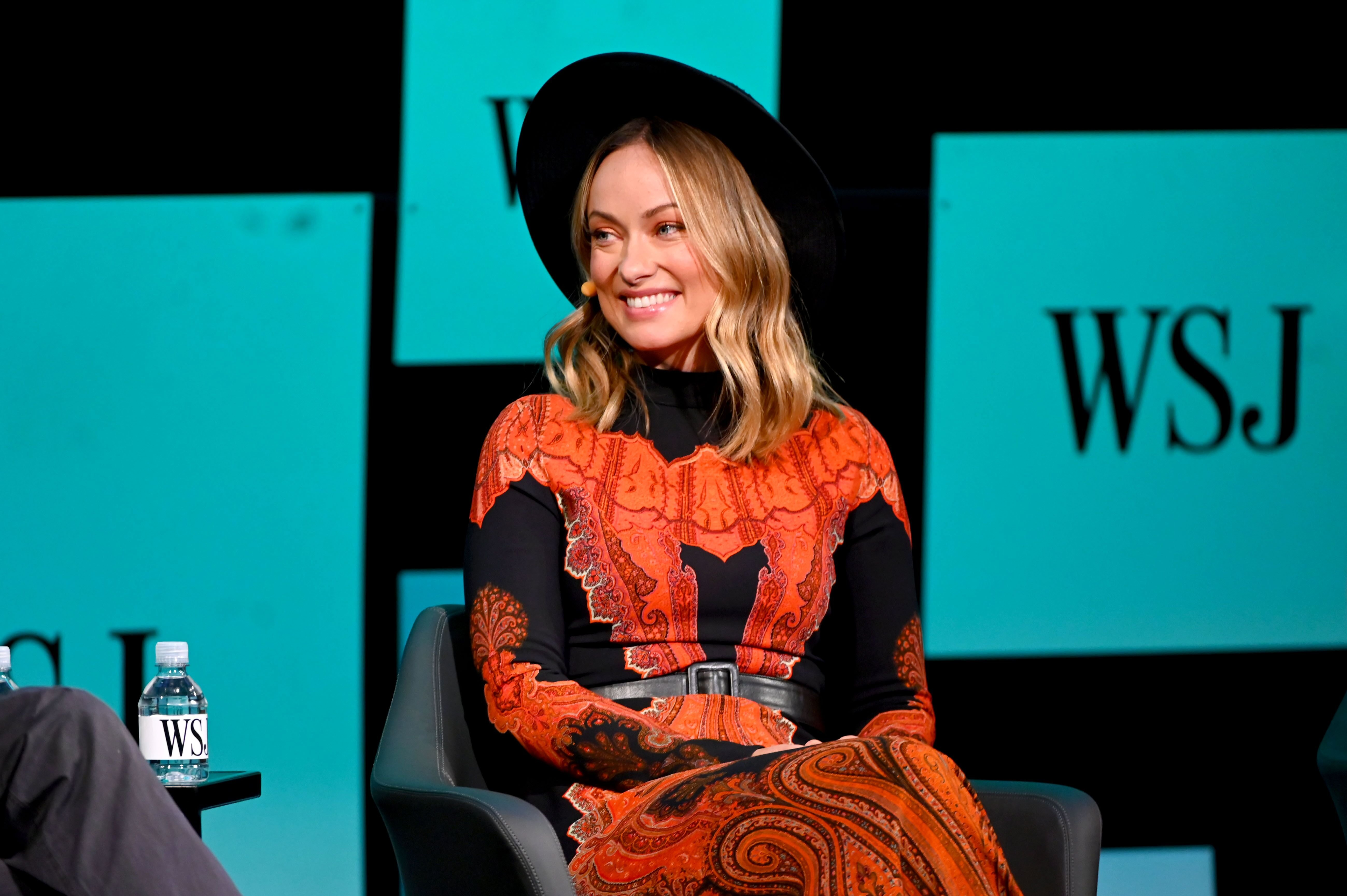 """Olivia Wilde at The Wall Street Journal's """"The Future of Everything Festival"""" held at Spring Studios on May 22, 2019, in New York City 