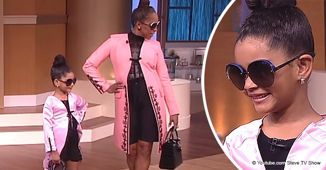 5-year-old girl meets her icon Marjorie Harvey in adorable video from 'Steve TV Show'
