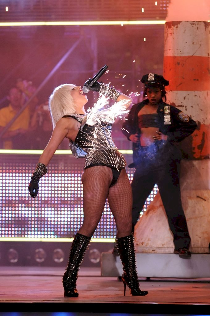 TORONTO, ON - JUNE 21: Lady Gaga performs at the 20th Annual MuchMusic Video Awards at the MuchMusic HQ on June 21, 2009 in Toronto, Canada. (Photo by Arthur Mola/WireImage)