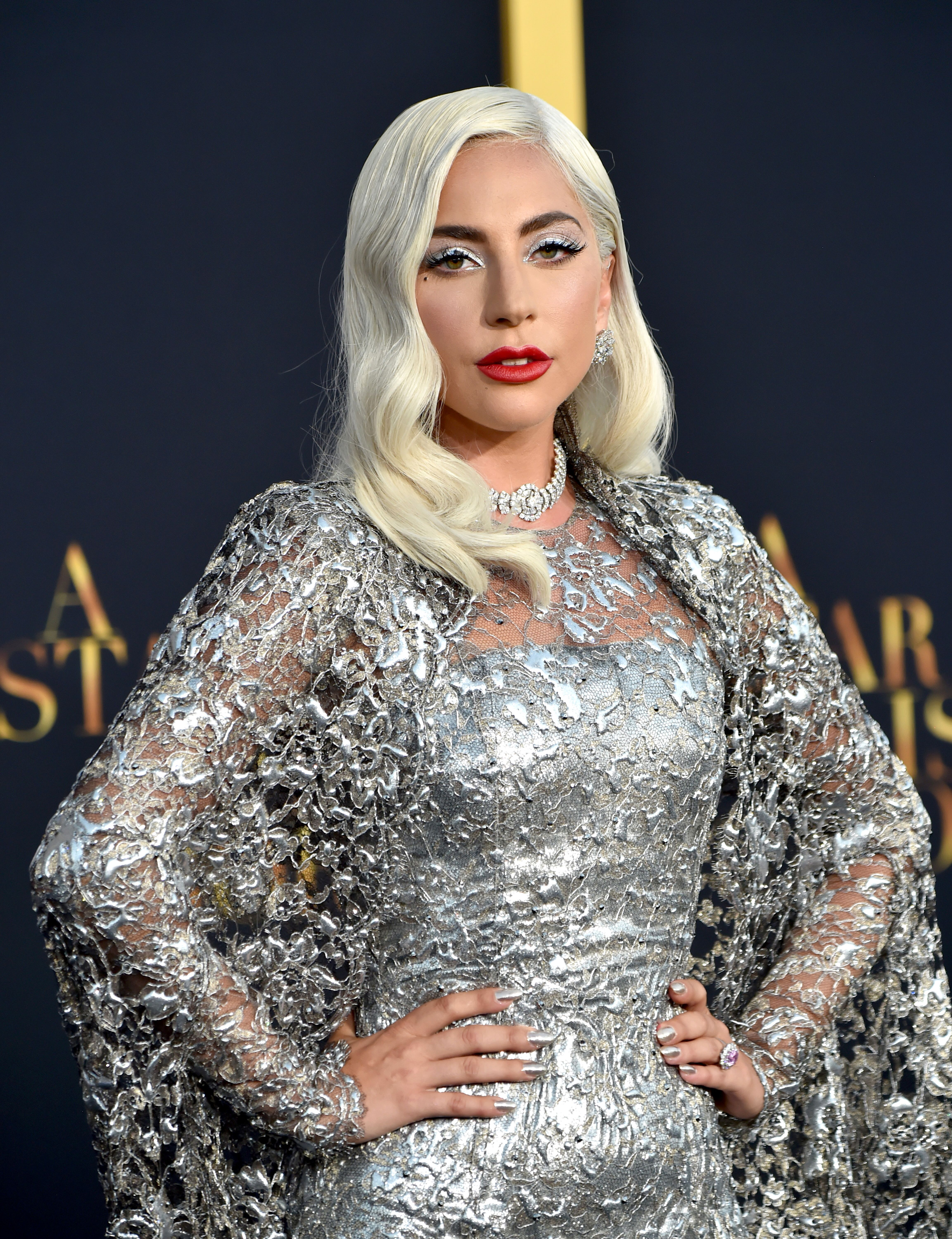 Lady Gaga at the premiere of 'A Star Is Born' at The Shrine Auditorium on September 24, 2018, in Los Angeles, California | Photo: Kevin Mazur/Getty Images