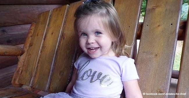 2-jähriges Mädchen kämpft um ihr Leben, nachdem es beim Spielen im Hinterhof angeschossen wurde