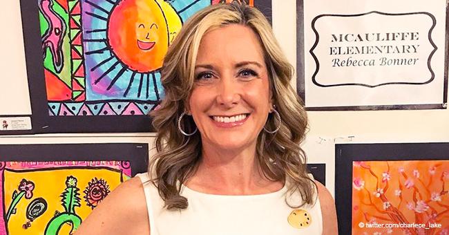 Elementary School Teacher Became a Sensation after Printing Her Pupils' Art Works onto Her Dress