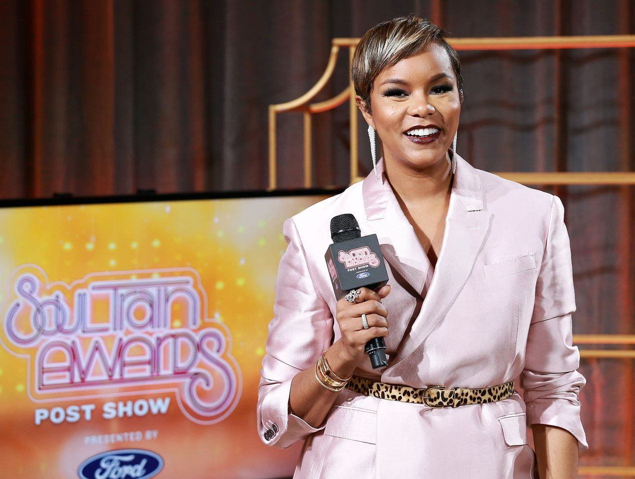 LeToya Luckett at the 2019 Soul Train Awards presented by BET at the Orleans Arena on November 17, 2019 in Las Vegas, Nevada   Photo: Getty Images