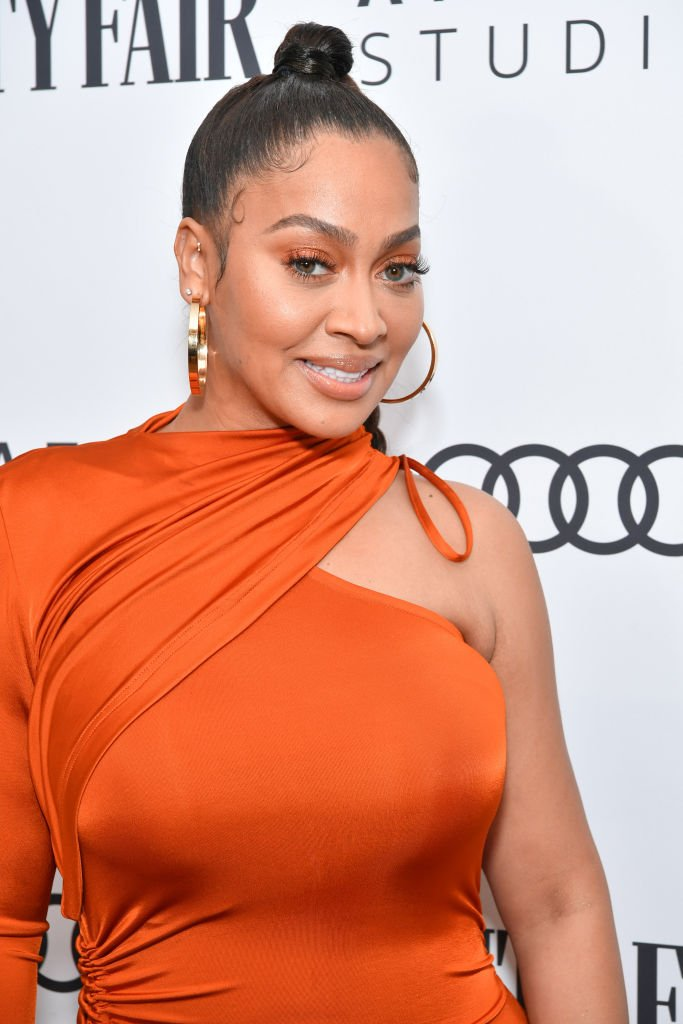 La La Anthony attends The Vanity Fair x Amazon Studios 2020 Awards Season Celebration at San Vicente Bungalows | Photo: Getty Images
