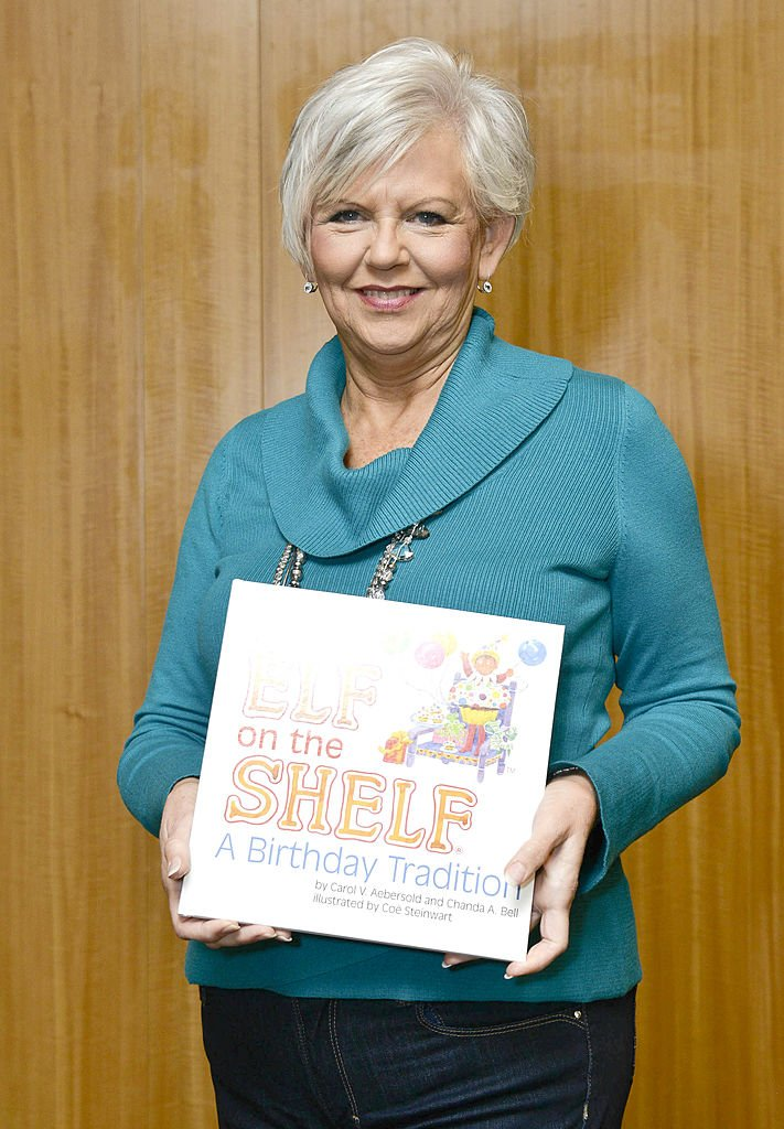 """Carol Aebersold attends """"The Elf On The Shelf: A Birthday Tradition"""" book event at Barnes & Noble, 86th & Lexington on October 23, 2013 in New York City. 