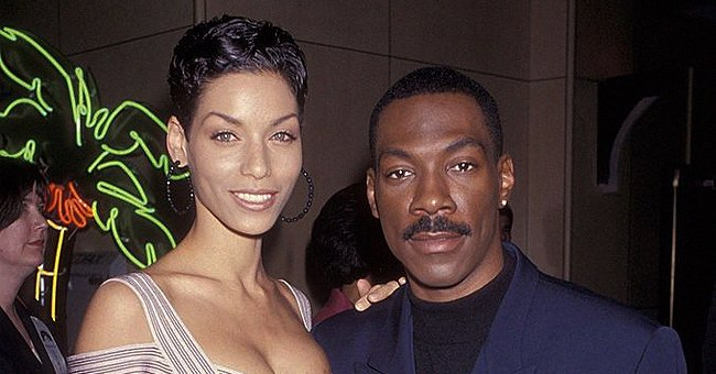 Check Out Eddie Murphy's Ex-wife Showing Her Rap Moves as She Dances in Designer Outfits (Video)
