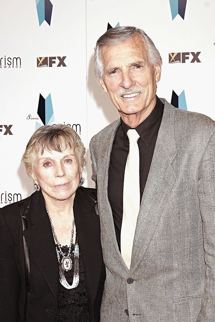 Dennis Weaver and his wife attend The 8th Annual PRISM Awards at the Hollywood Palladium | Getty Images / Global Images Ukraine