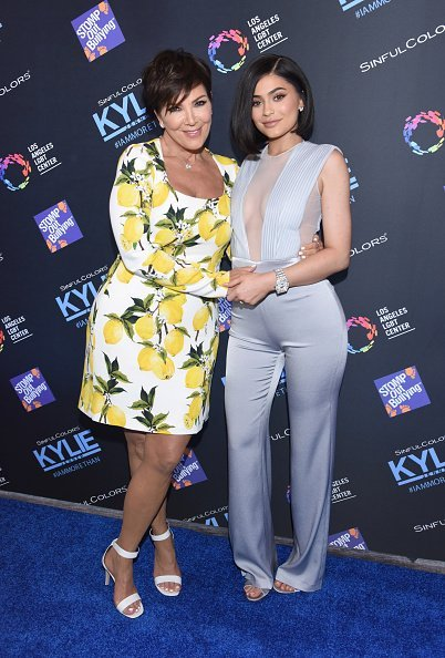 Kris Jenner and Kylie Jenner on July 14, 2016 in Los Angeles, California | Photo: Getty Images