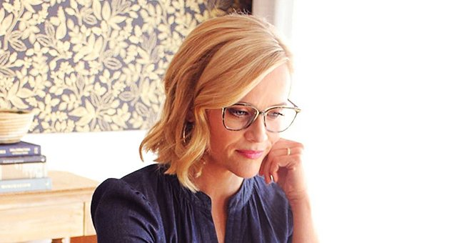 Reese Witherspoon Jokes about Working from Home in a New Photo