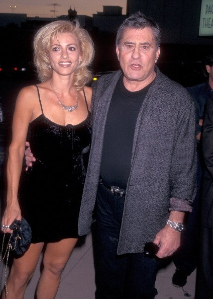 James Farentino and Stella Farentino on August 28, 1996 at Cinerama Dome Theatre in Hollywood, California.   Photo: Getty Images