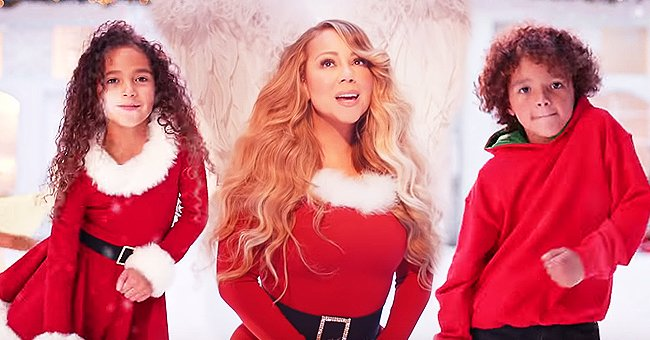 Mariah Carey's Twins Monroe and Moroccan Make Appearance in New Music Video for 'All I Want for Christmas Is You'