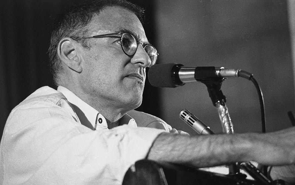 Larry Kramer at Village Voice AIDS conference on June 6, 1987 in New York City, New York | Photo: GettyImages