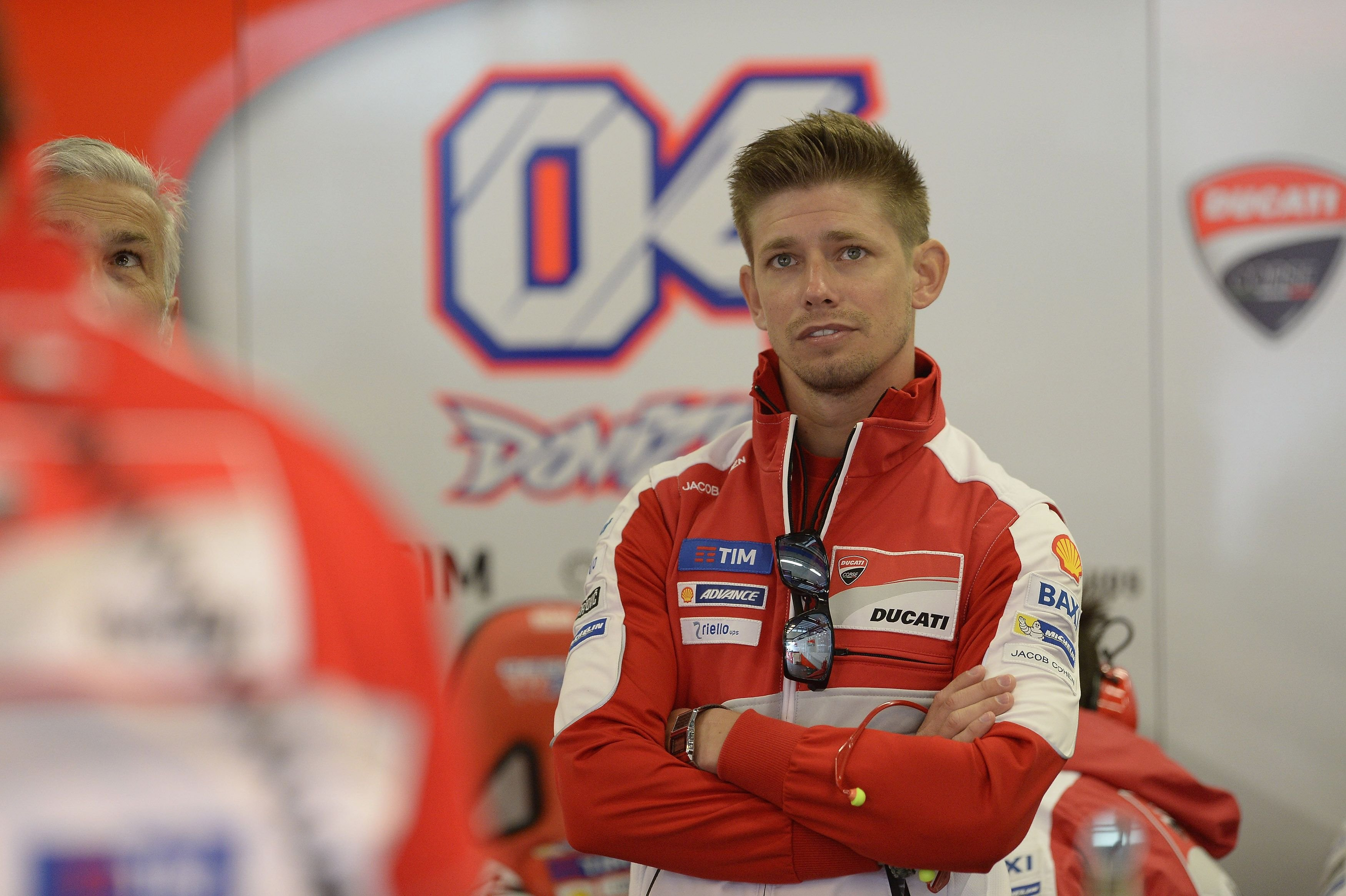 Casey Stoner of Australia and Ducati Team looks on in box at the MotoGp of Austria - Free Practice at Red Bull Ring on August 12, 2016 | Photo: Getty Images