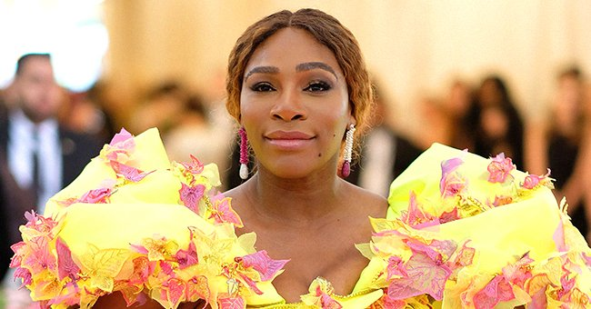 Serena Williams Puts Her Thighs on Display in Tight Mini Dress Flaunting Beautiful Afro in New Photo