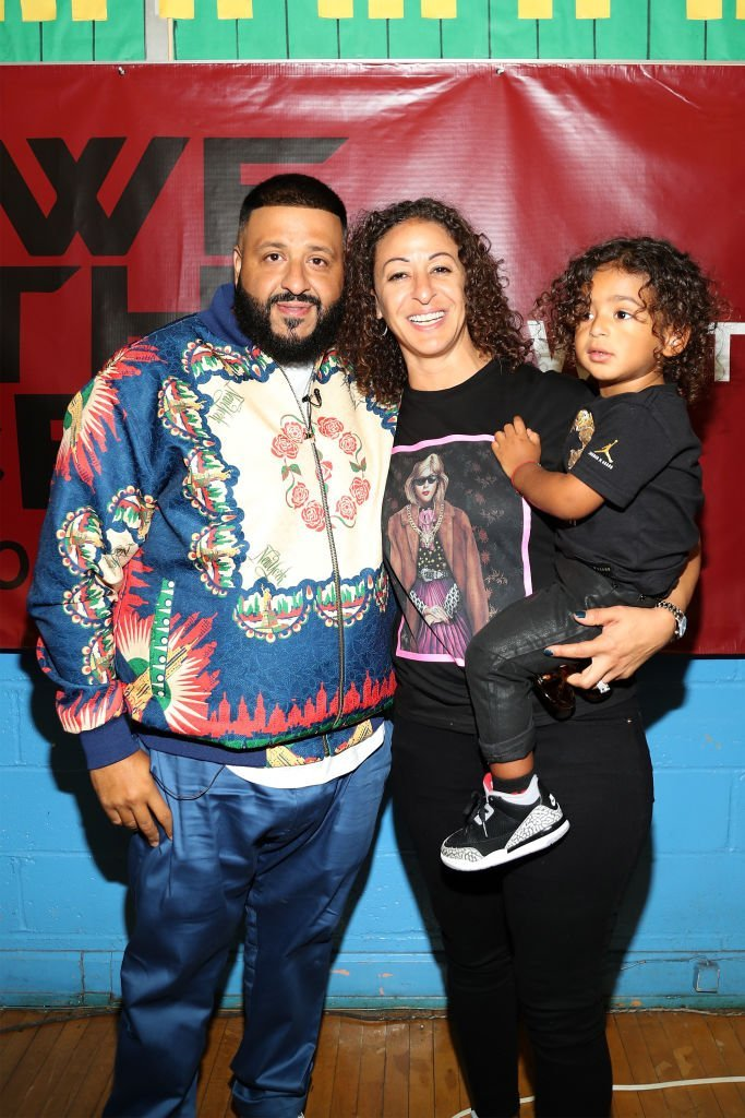 DJ Khaled, Nicole Tuck and their son Asahd attending an event in New York in May 2019. | Photo: Getty Images