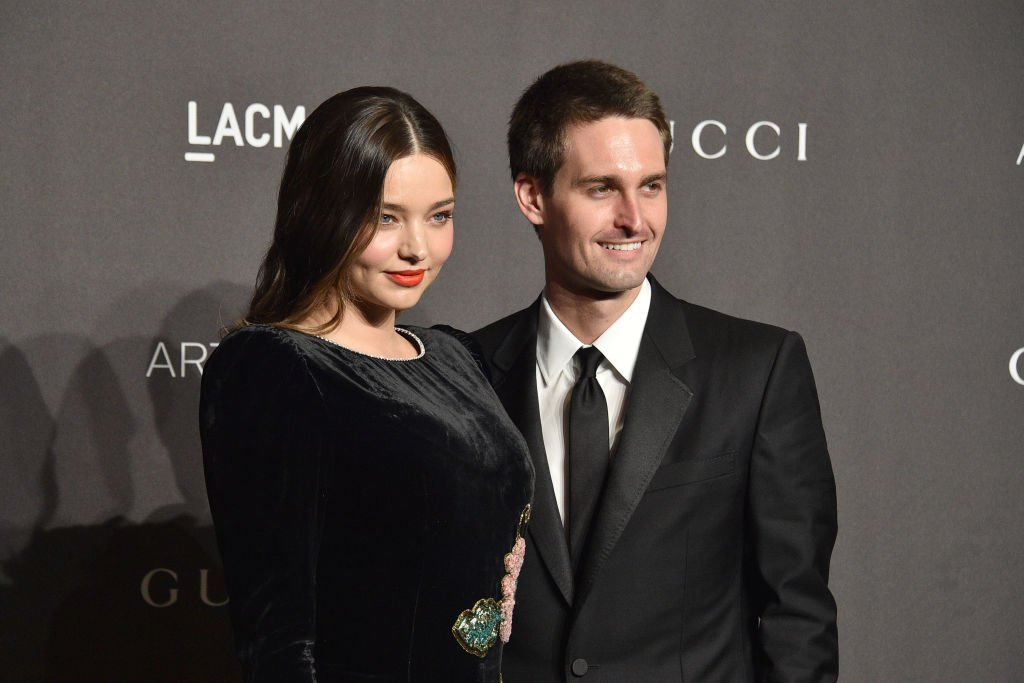 Miranda Kerr and Evan Spiegel attend LACMA Art + Film Gala 2018 at Los Angeles County Museum of Art on November 3, 2018 | Photo: Getty Images