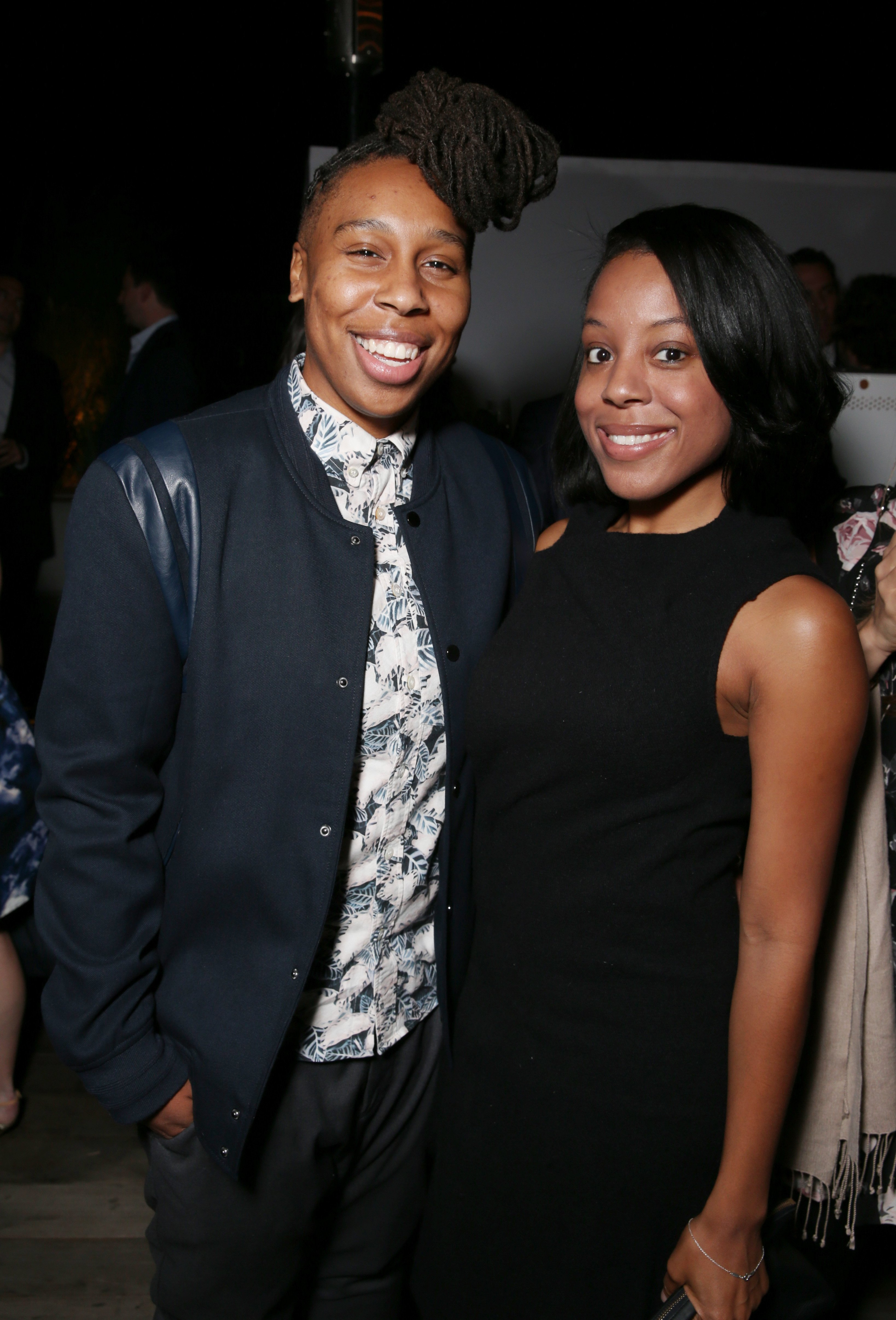 Lena Waithe and Alana Mayo at The Hollywood Reporter Next Gen 2015 celebration. | Photo: Getty Images