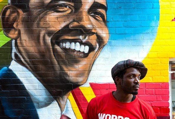 Mural of Obama | Photo: Getty Images