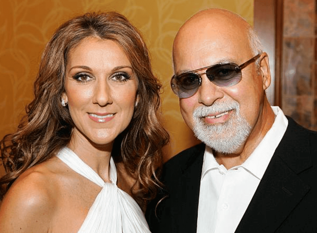 Celine Dion and Rene Angelil after a performance at the 41st annual Labor Day Telethon to benefit the Muscular Dystrophy Association, Las Vegas| Source: Getty Images