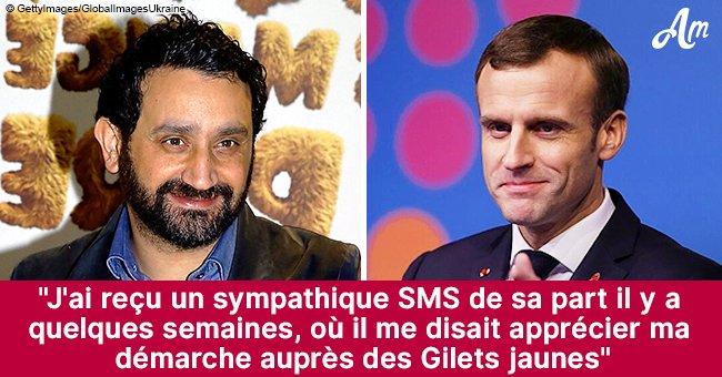 Cyril Hanouna révèle son échange privé avec Emmanuel Macron
