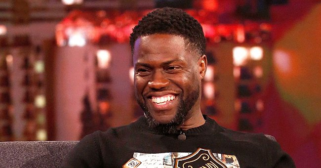 Kevin Hart Cannot Stop Laughing While Looking at His Baby's Facial Expression on a Video Call