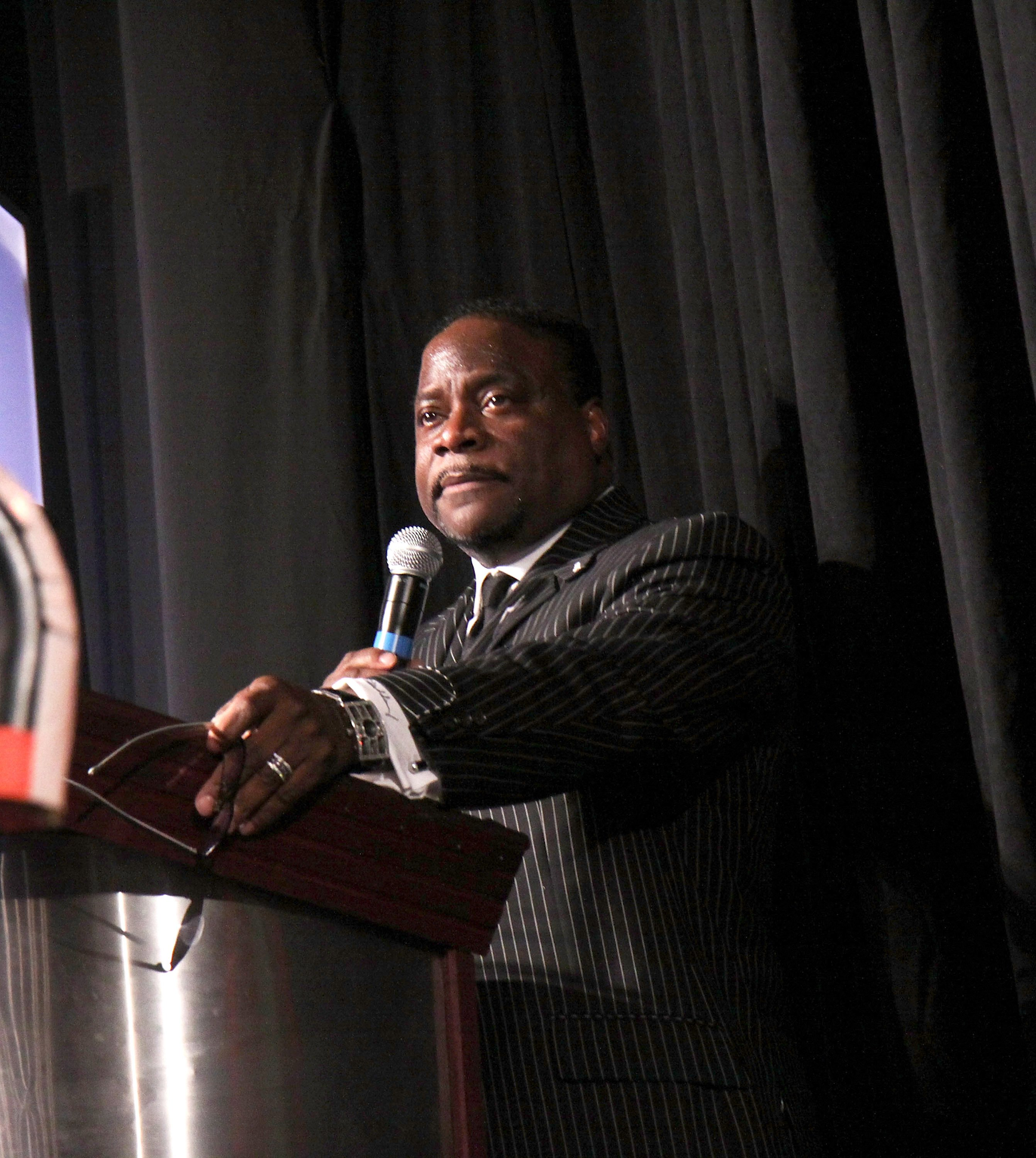 Bishop Eddie Long at the 2009 Essence Music Festival presented by Coca-Cola at the Louisiana Superdome on July 5, 2009 | Photo: Getty Images