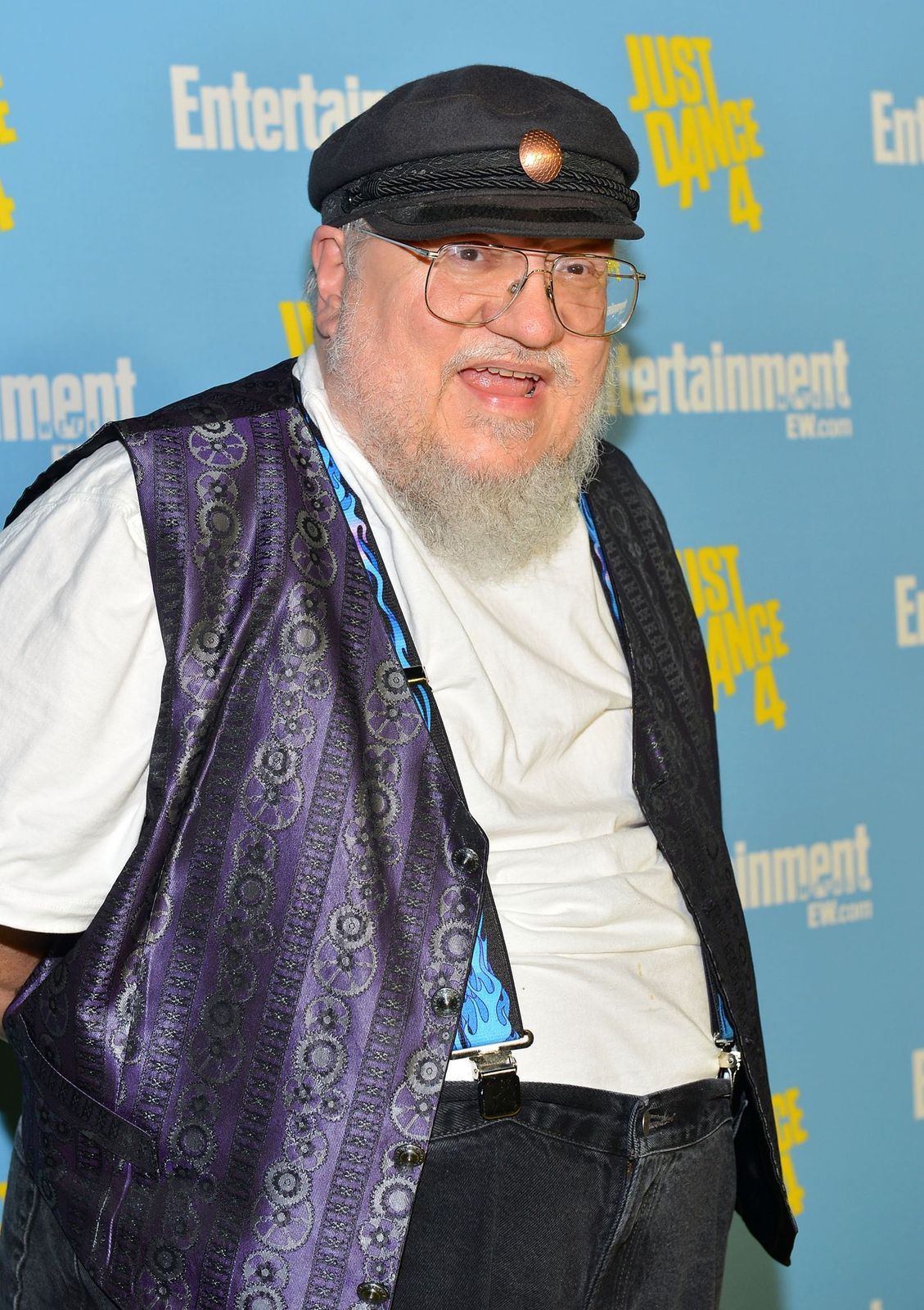 """George R. R. Martin at""""Entertainment Weekly's"""" 6th Annual Comic-Con Celebrationon July 14, 2012, in San Diego, California 