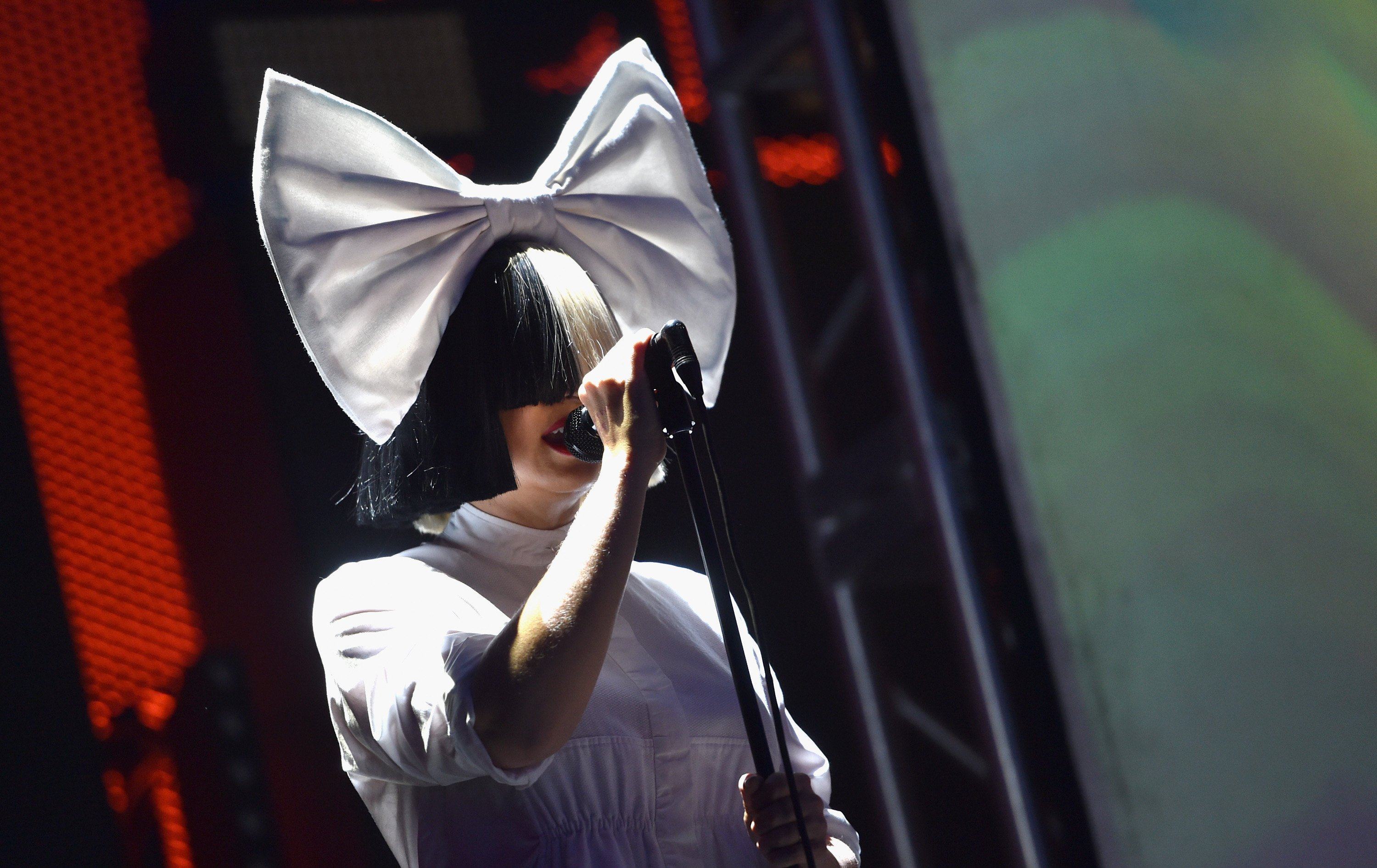 Sia performs onstage at the 2016 iHeartRadio Music Festival at T-Mobile Arena on September 23, 2016. | Photo: Getty Images