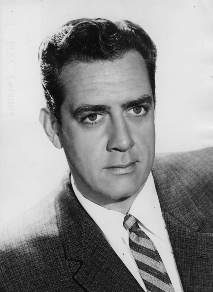 """Raymond William Stacey Burr (1917 - 1993) acted in """"Gunsmoke"""" 