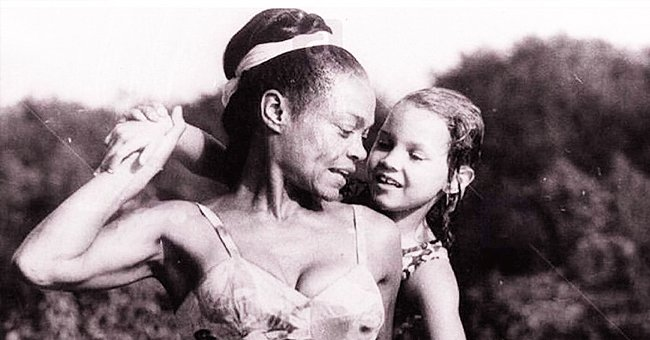 Eartha Kitt's Daughter Shows TBT Photo with Her Mom Rocking Flat Tummy & Fit Legs in a Swimsuit