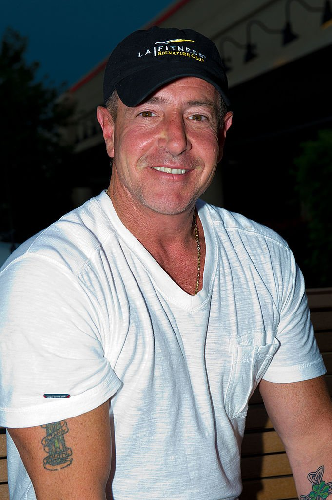 Michael Lohan at the Celebrity Pillow Fight Press Conference and Weigh In at the Fox And Hound Pub and Grille on June 22, 2012   Photo: Getty Images