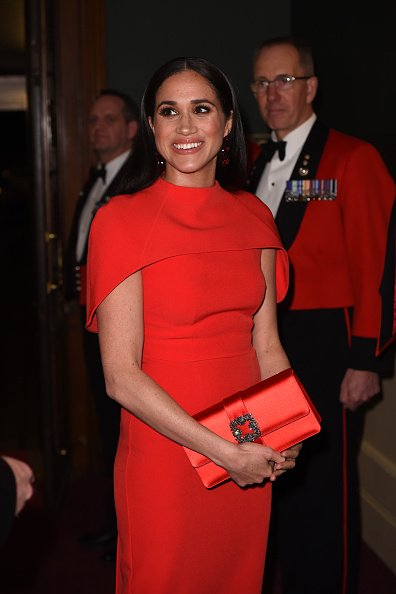 Meghan Markle on March 7, 2020 in London, England.   Photo: Getty Images