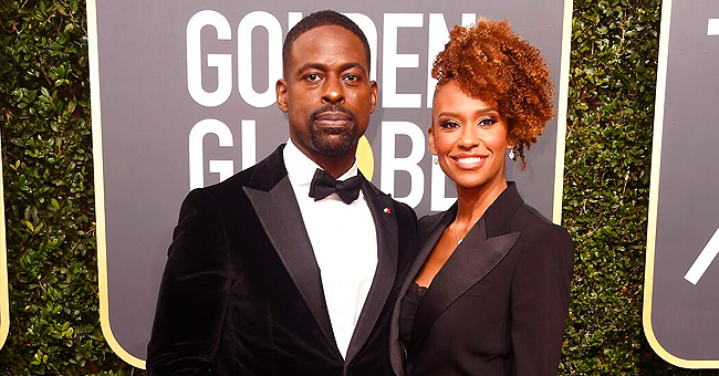 'This Is Us' Star Sterling K. Brown Teased by Wife Ryan Michelle Bathe While on Solo Dad Duty