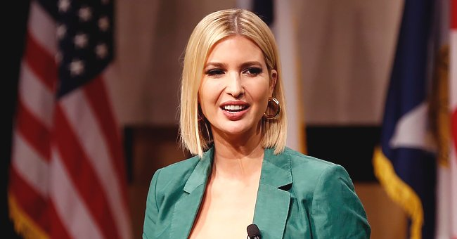 Ivanka Trump Looks Chic in Checked Peplum Top and Matching Pencil Skirt at a White House Ceremony
