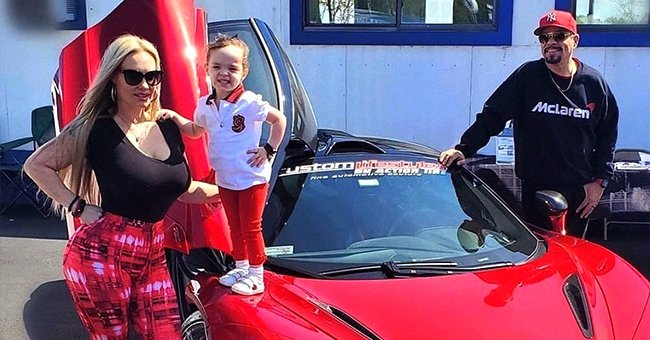 'Law and Order' Star Ice-T, Wife Coco and Daughter Chanel Pose Near a Red Sports Car in New Family Pic