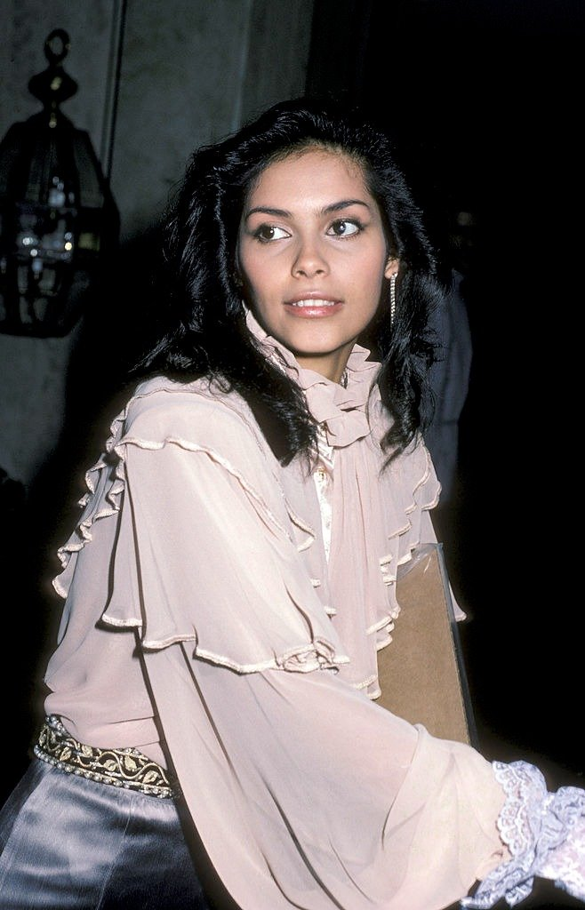 Singer Vanity attends the press conference for Hands Across America on January 16, 1986 | Photo: Getty Images