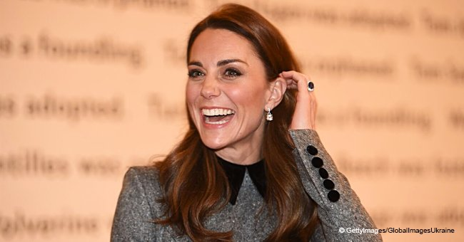 Kate Middleton Gets Creative as She Visits a Museum in a Classy Coat Dress and $695 Block Heels