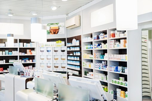 A Pharmacy.| Photo: Getty Images.
