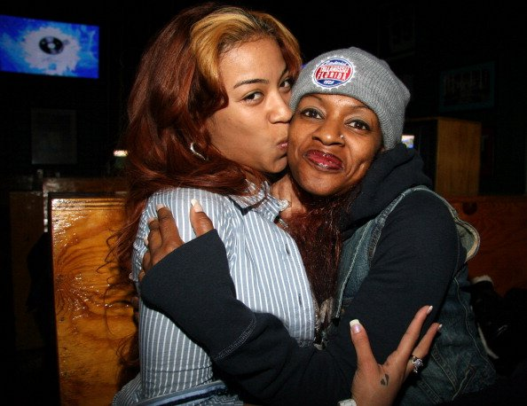 Keyshia Cole and Frankie Lons at Joes Pub in Chicago, Illinos, United States, in 2006. | Photo: Getty Images