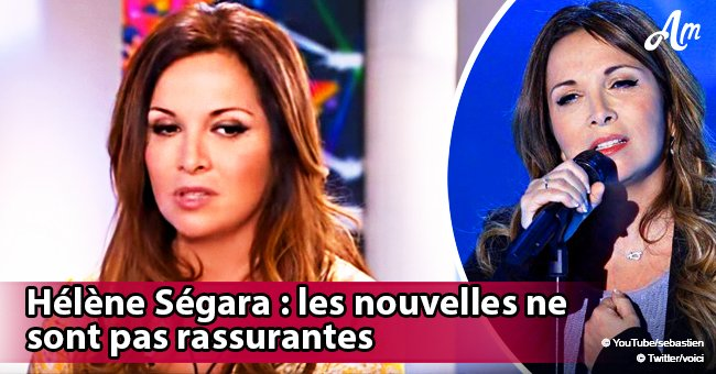 La maladie d'Hélène Ségara: l'état de santé de la chanteuse est inquiétant