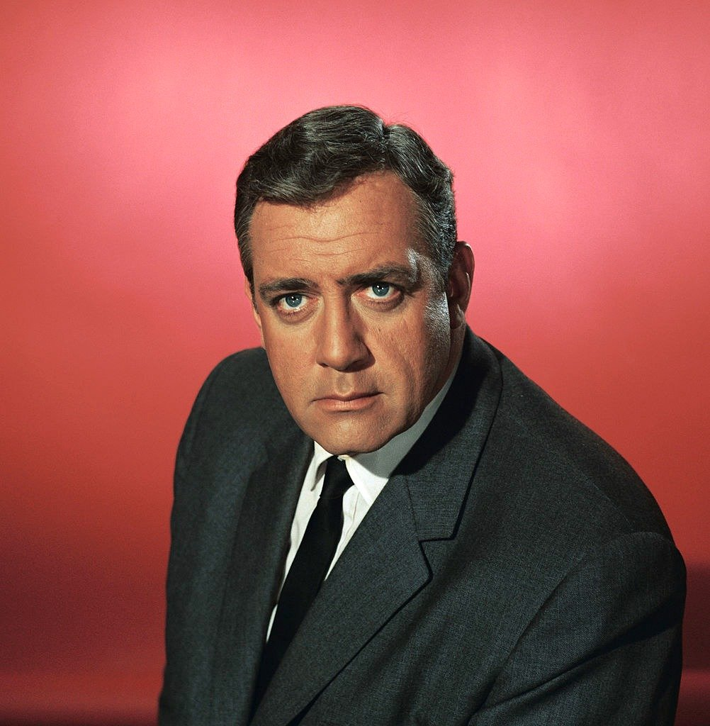 """Raymond Burr as 'Robert T. Ironside' in a promotional headshot for the TV series, """"Ironside"""" 
