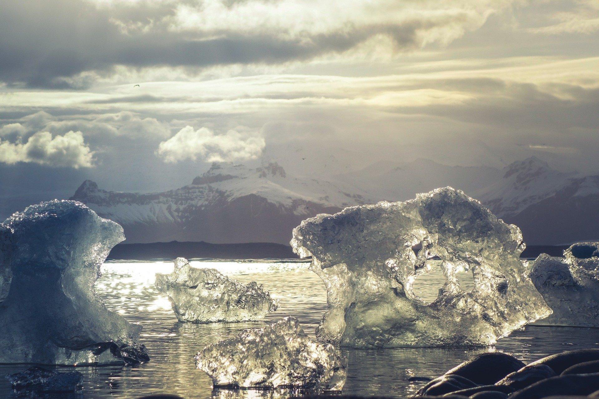 Icebergs. Fuente: Pixabay