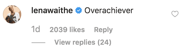 Lena Waithe comments on Jennifer Aniston reaching 20 million followers on Instagram | Source: Instagram.com/jenniferaniston