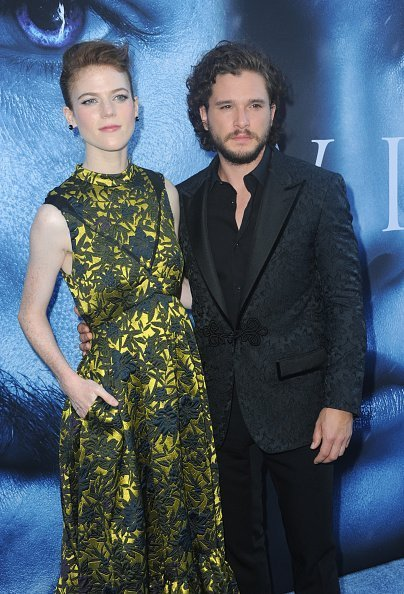 Rose Leslie and Kit Harington at Walt Disney Concert Hall on July 12, 2017 in Los Angeles, California | Photo: Getty Images