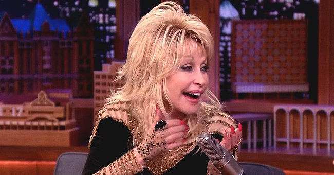 Dolly Parton Pranks Jimmy Fallon with Amusing Story about Origin of Her Curves