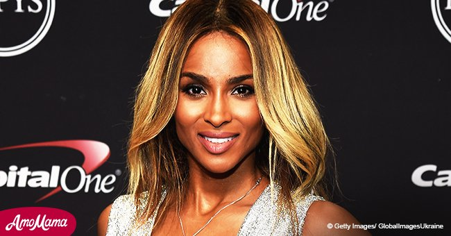 Ciara, 32, showcases her washboard abs as she rocks a very cropped sports bra