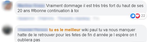 Les commentaires des fans de Paule | Photo : Facebook