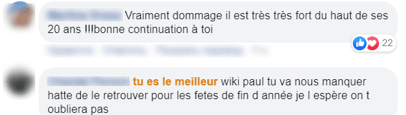 Les commentaires des fans de Paule | Photo : Facebook