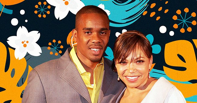 Tisha Campbell & Duane Martin's Son Strikes a Pose in a Gray Jacket in His 5th Grade Graduation
